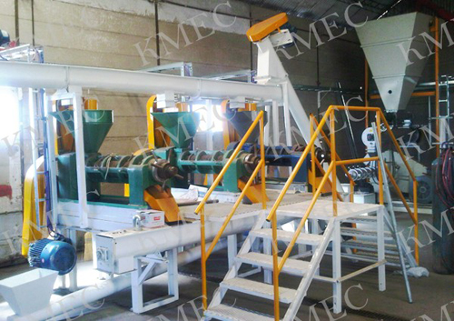 30 TPDsoybean extruding and pressing plant workshop