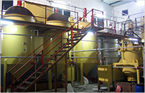 10TPD soybean oil refining line in Mauritius
