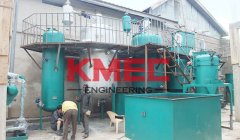 5TPD batch soybean oil refining line
